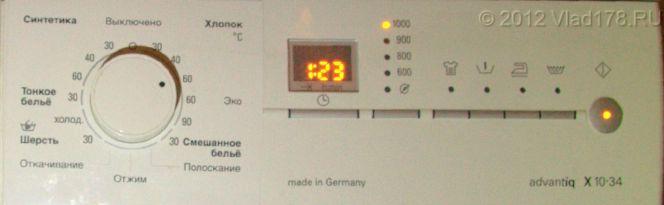 Панель управления Siemens WS10X34
