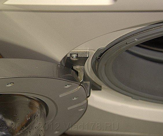 Максимальное открытие люка стиральной машины Siemens advantiq X 10 34