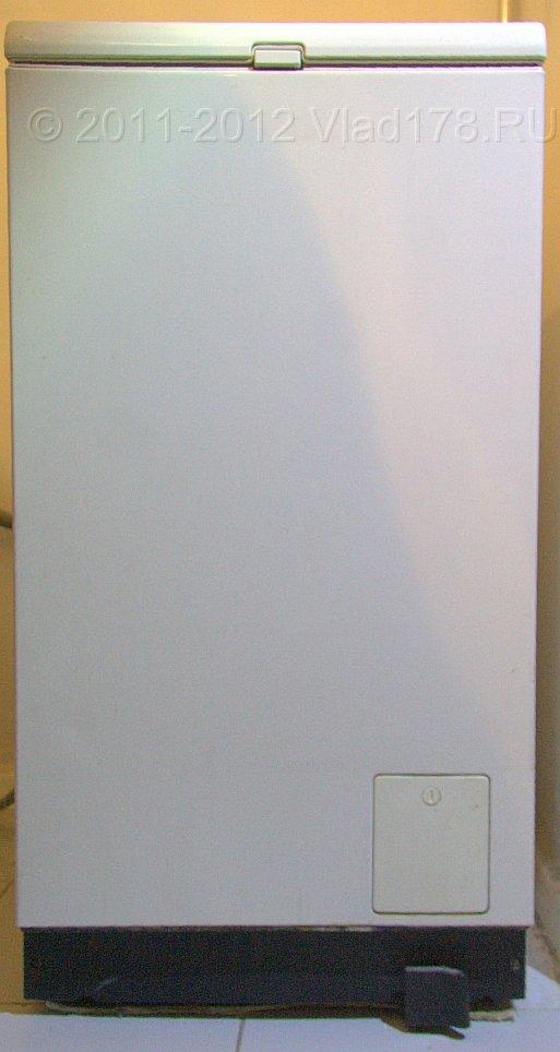 Вид спереди вертикальной стиральной машины sie wp2100